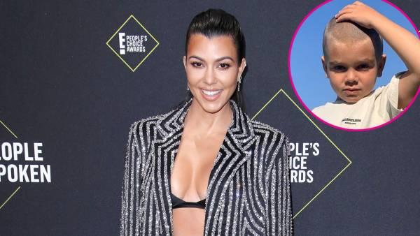 Kourtney Kardashian Shows Off Son Reign Braid After Shaving Head