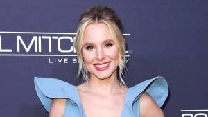 Kristen Bell at Baby2Baby Gala in 2017 Kristen Bell Says Her Daughters Lie About Using Moms Makeup