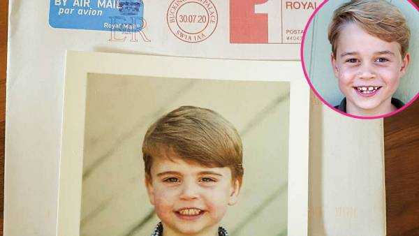 Prince Louis Looks Just Like Big Brother George in New Pic