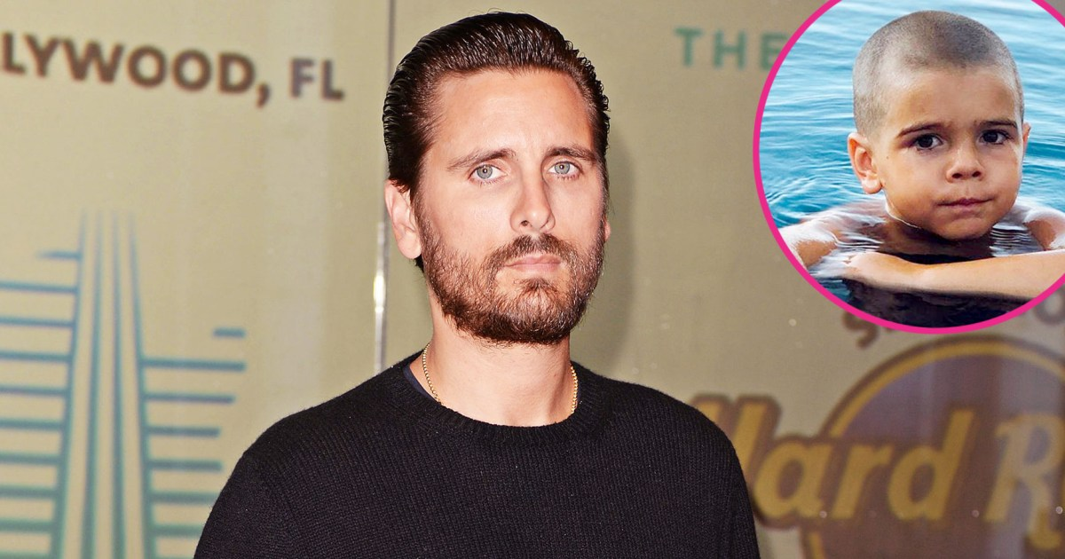 Scott Disick Shares New Photo of Reign's Shaved Head: 'Play on Playa'