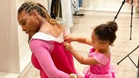 Serena Williams Twins With Daughter Olympia in Princess Dresses