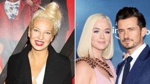 Sia Recalls Helping Katy Perry Out of Breakdown During Orlando Bloom Break