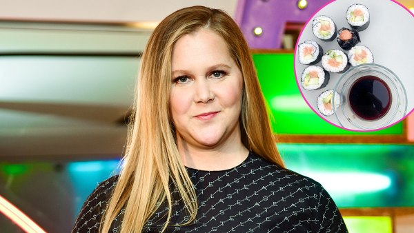 Stars Staying Busy in the Kitchen Amid the Pandemic Amy Schumer Sushi