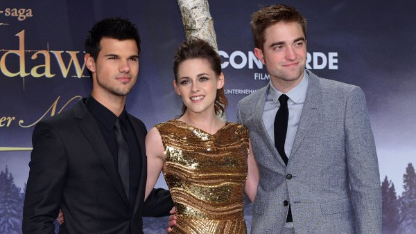Taylor Lautner and Kristen Stewart and Robert Pattinson Twilight