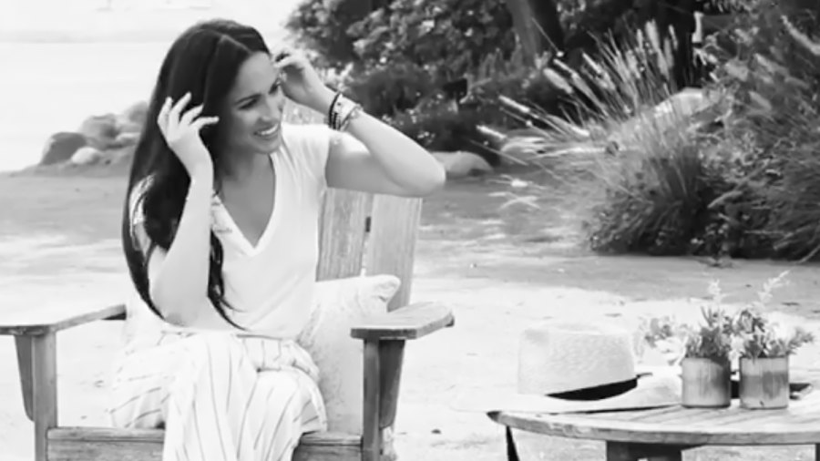 The Meaning Behind Meghan Markle's Insanely Chic All-White Ensemble