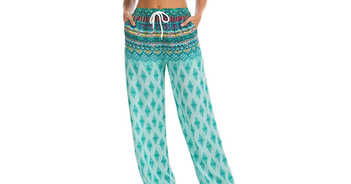 These Boho Joggers Are the Definition of Chic Comfort