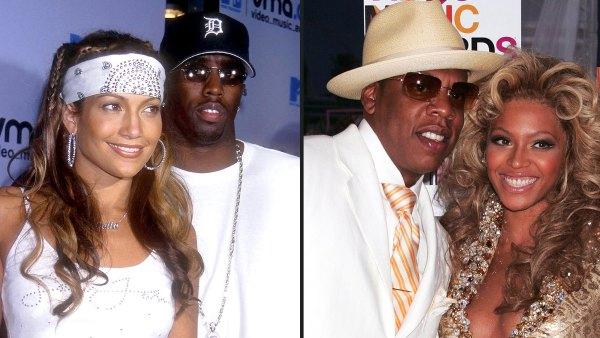 VMA Iconic Couples Beyonce Jay Z Jennifer Lopez P Diddy