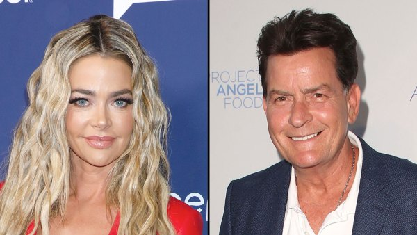 Denise Richards Gives an Update on Coparenting With Charlie Sheen
