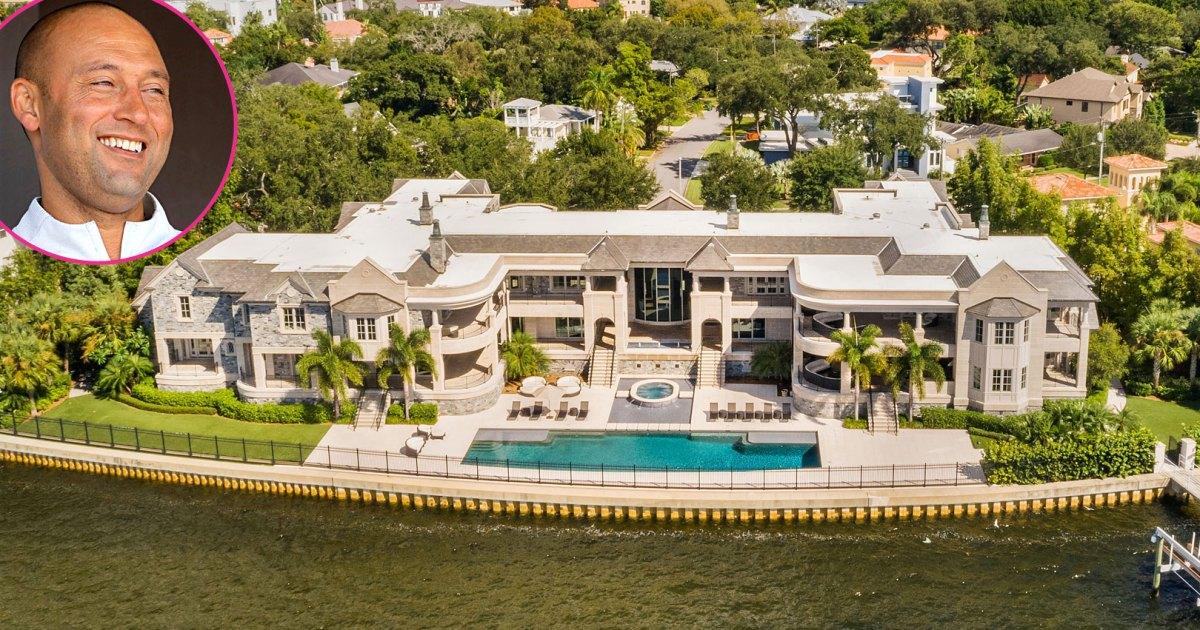 Derek Jeter Is Selling His Tampa Mansion for $29 Million: Inside Pics!