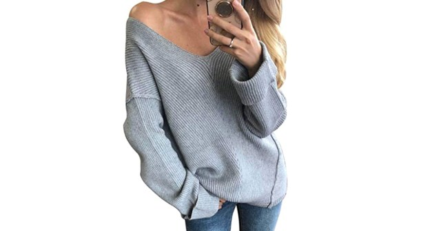 This Off-the-Shoulder Sweater Is Made for Mirror Selfies.jpg
