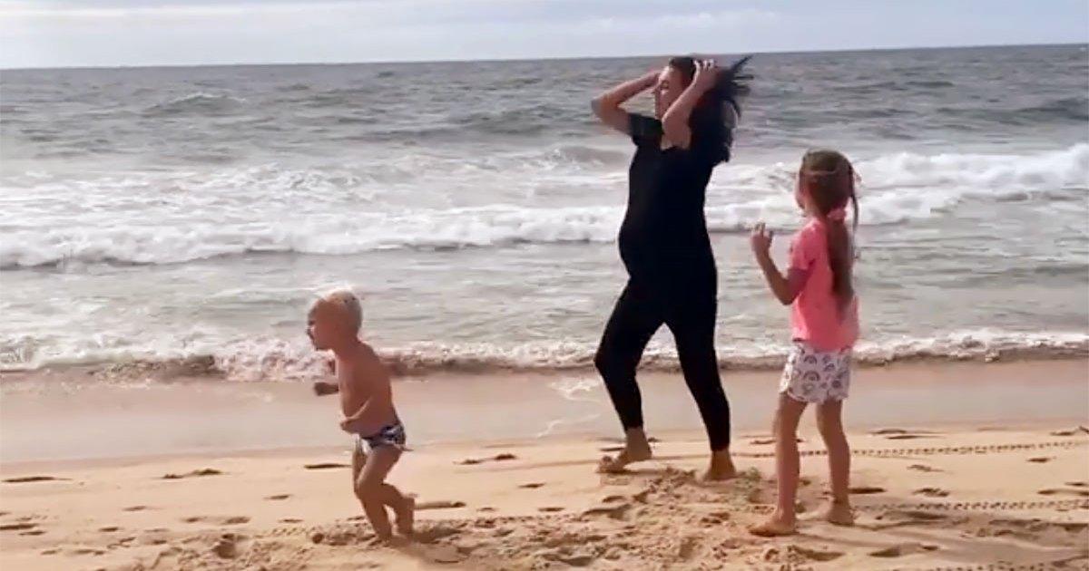 Hilaria Baldwin Shows Baby Bump Ahead of 5th Child ...