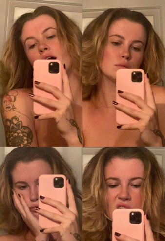 Ireland Baldwin Goes Topless in a Series of Snaps