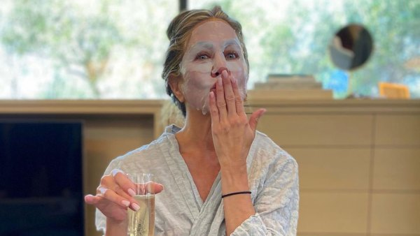 Jennifer Aniston Prepares for the 2020 Emmys in Pajamas and a Face Mask Instagram Emmys 2020