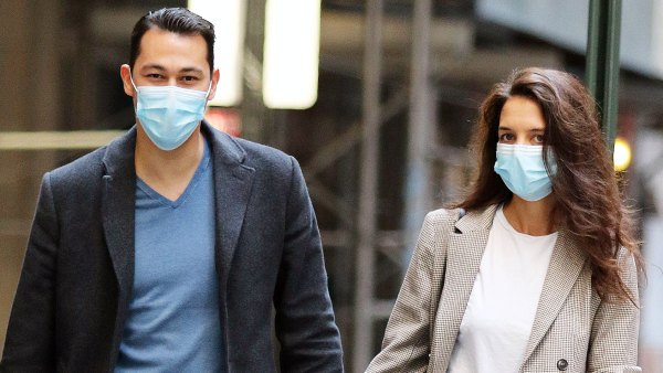 Katie Holmes and Emilio Vitolo Jr Hold Hands on New York City Stroll