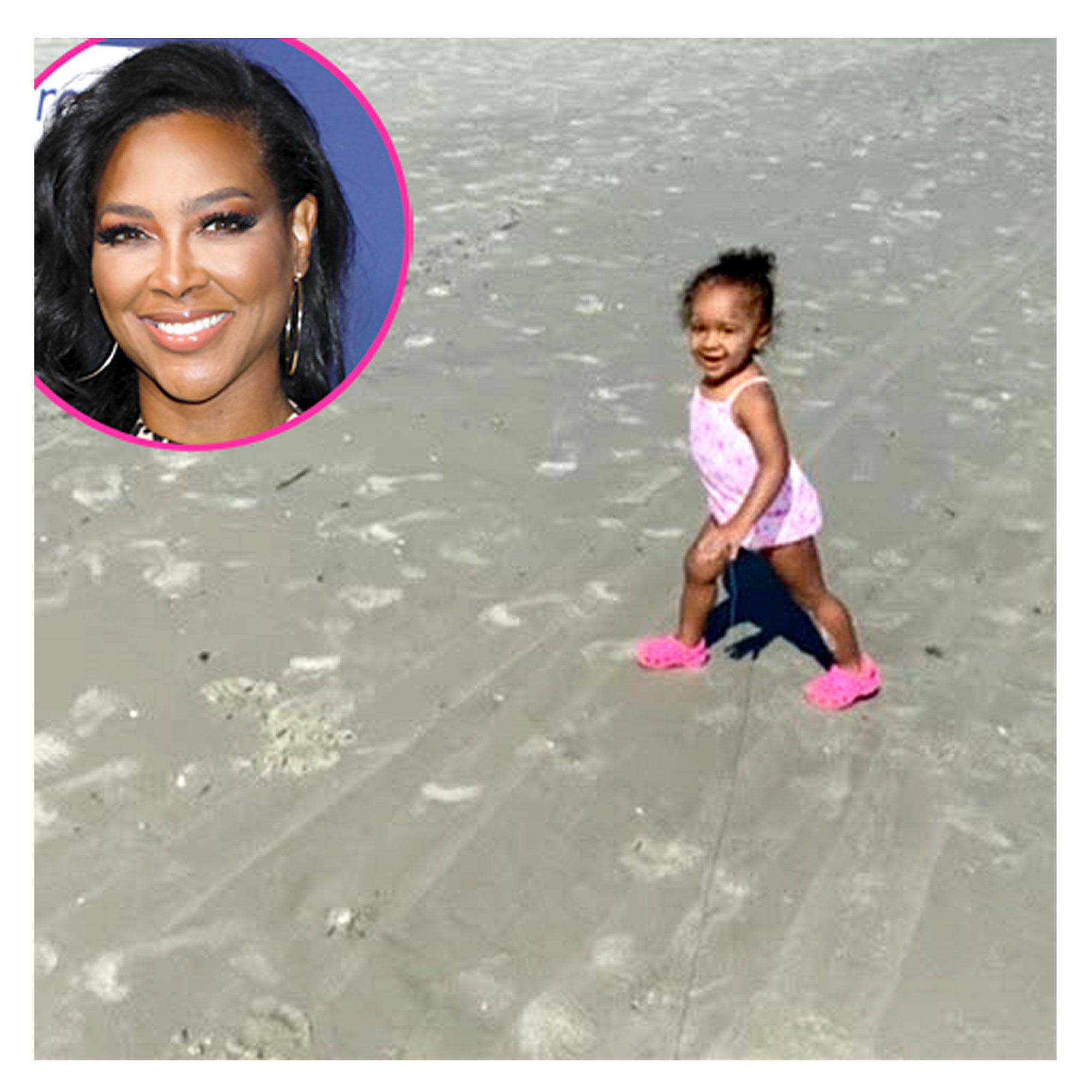 Kenya Moore and More Celeb Families Hitting the Beach in Summer 2020: Pics