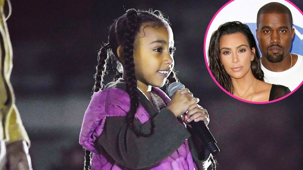 Kim Kardashian My Daughter North Gets Her Confidence From Dad Kanye West