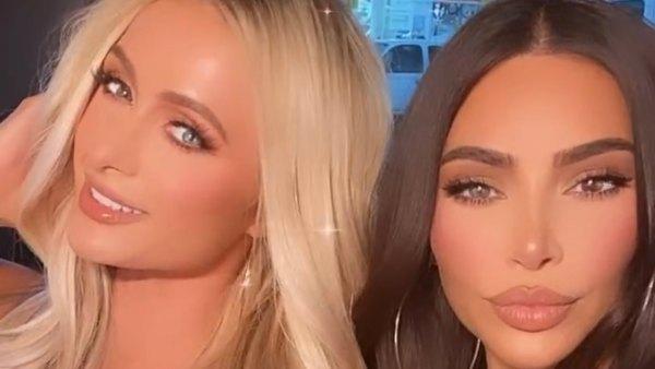 Kim Kardashian Reunites With Former Best Friend Paris Hilton for Girls' Night