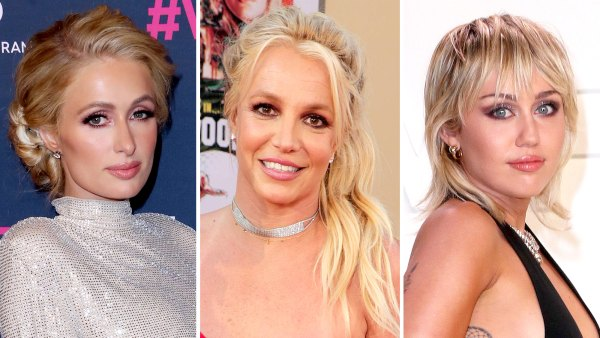 Paris Hilton Miley Cyrus and More Celebs Support the FreeBritney Movement