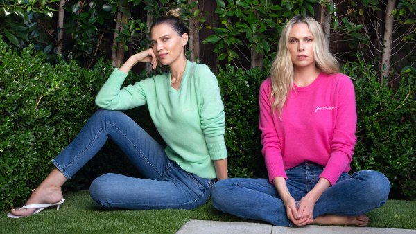 Sara and Erin Foster Daughter by Joe's Collection