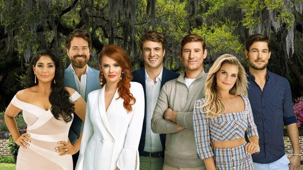 Leva Bonaparte, John Pringle, Kathryn Dennis, Shep Rose, Austen Kroll, Madison LeCroy, Craig Conover Southern Charm Season 7 Cast