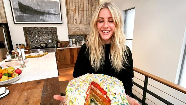 Ellie Goulding Stars Busy in the Kitchen Amid the Pandemic