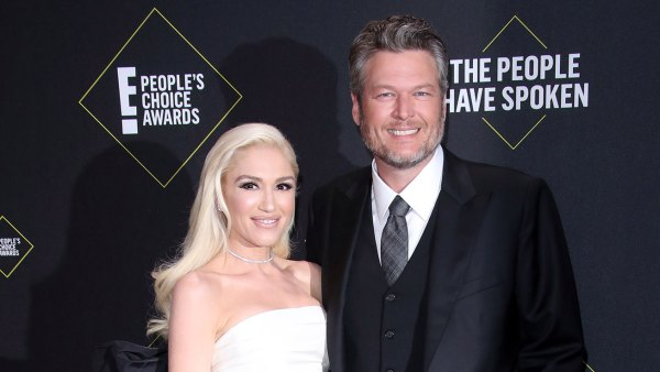Blake Shelton Wants to Marry Gwen Stefani Very Soon After Engagement White Dress Black Boots Blue Jeans