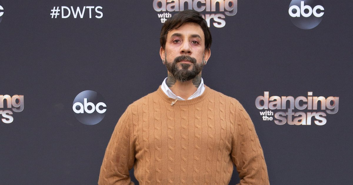 DWTS' AJ McLean Details Cheryl Burke's 'Scary' Fall, Previews Emotional Dance About Addiction - Us Weekly