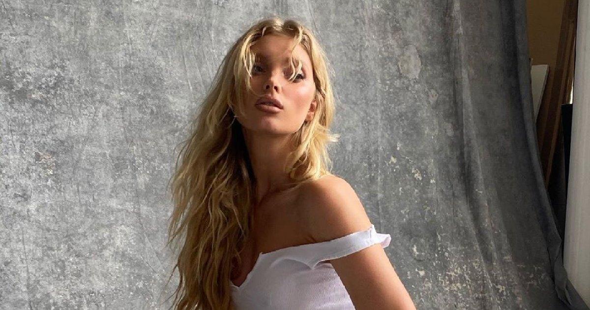See Model Elsa Hosk and More Pregnant Stars' Creative Sex Reveals 1