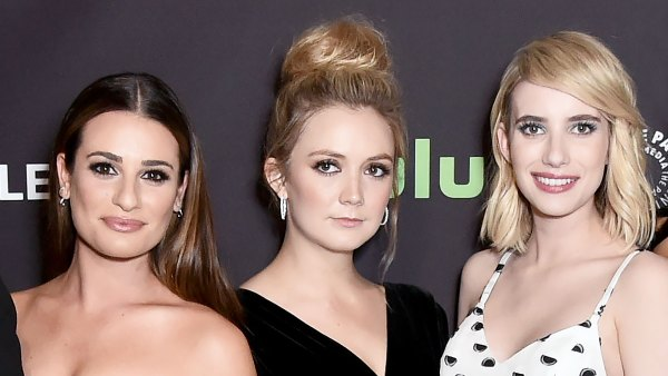 Emma Roberts Says Being Pregnant at Same Time as Lea Michele and Billie Lourd Was Pure Witchcraft'