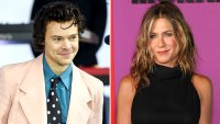 Harry Styles Wears Jennifer Aniston Iconic T-shirt From Friends