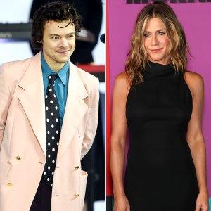 Harry Styles Wears Jennifer Aniston Iconic T-shirt From Friends