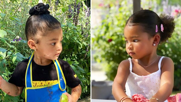 Stormi Webster and True Thompson Inside the Kardashian Jenner Kids First Day of Preschool