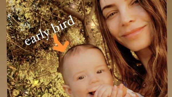 Jenna Dewan and Son Callum Is An Early Bird