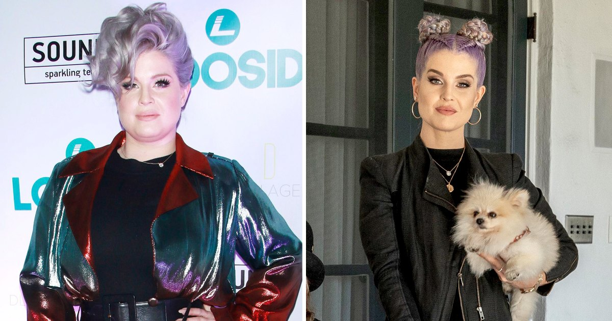 Kelly Osbourne Shows 85-Lb Weight Loss in New Family Pics Kelly Osbourne Weight