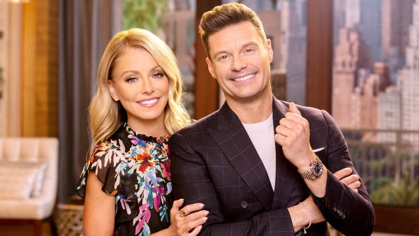 Kelly Ripa Hosts Live Alone Says Ryan Seacrest Doesnt Have COVID-19