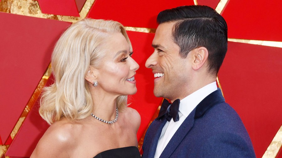 Kelly Ripa and Mark Consuelos attend the 90th Annual Academy Awards Kelly Ripa and Mark Consuelos Still Have an Infectious Energy Together As She Turns 50