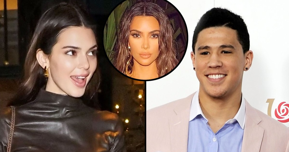 Kendall Jenner Invited Devin Booker to Kim Kardashian's Birthday Trip