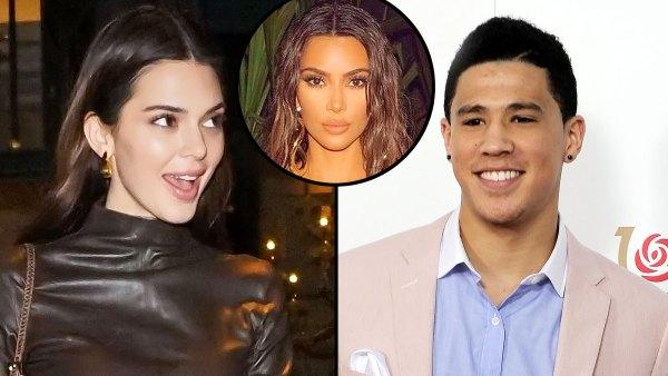 Kendall Jenner Invited Devin Booker Kim Kardashian's Birthday Trip
