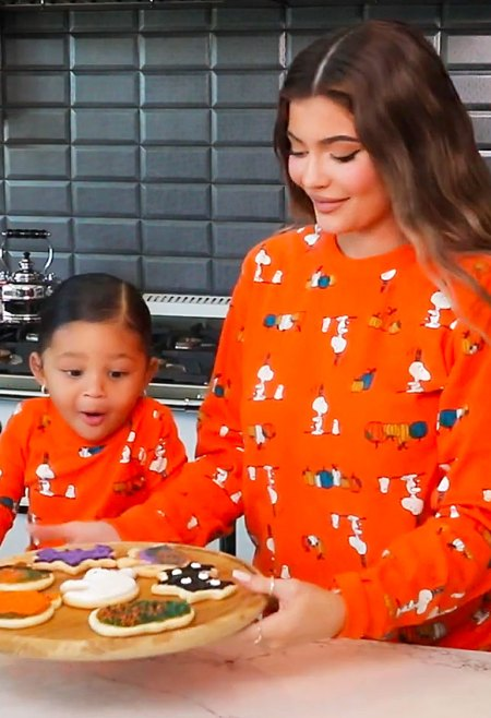 Kylie Jenner Bakes Cookies With Daughter Stormi and Reveals What They Are Going to Be for Halloween