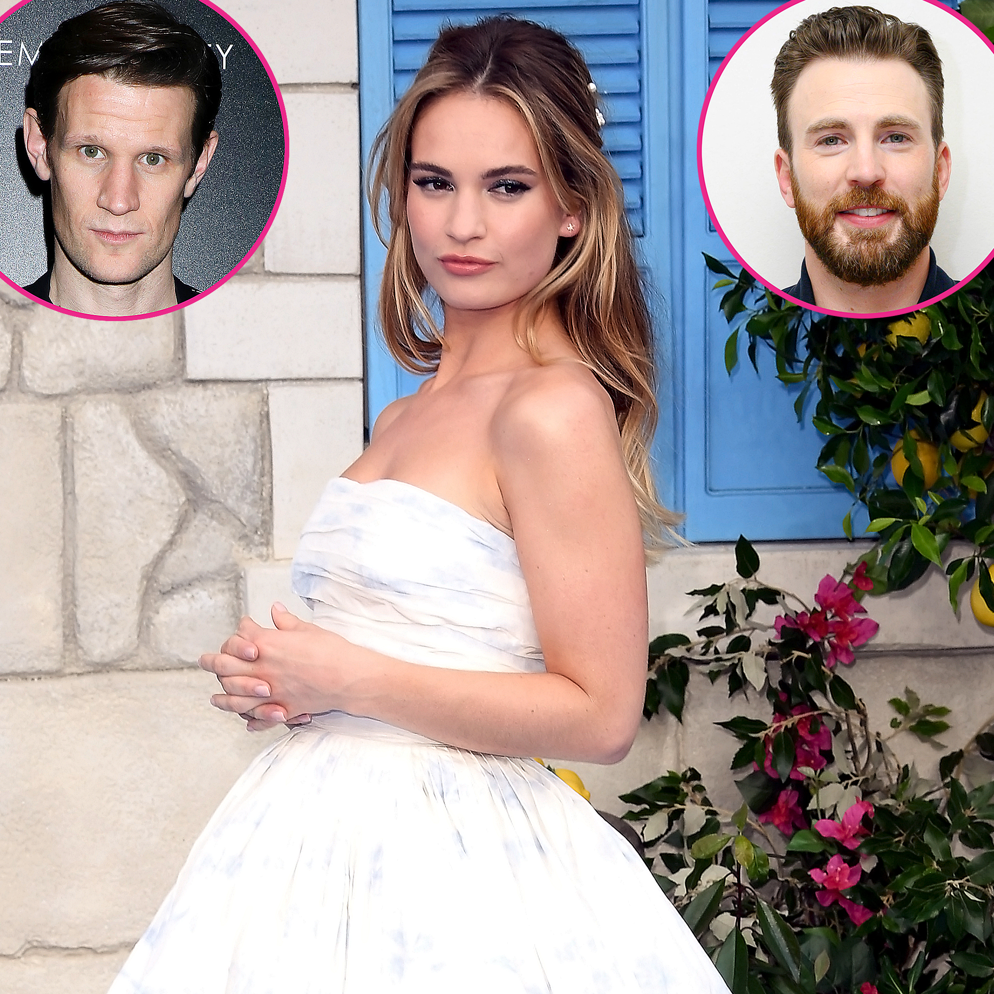 Lily James' Dating History: Matt Smith, Chris Evans and More