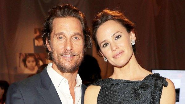Matthew McConaughey and Jennifer Garner attend The Fifth Annual Baby2Baby Gala Matthew McConaughey Helped Jennifer Garner Find Time to Pump on Dallas Buyers Club Set