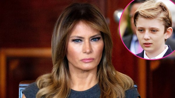 Melania Trump Reveals Son Barron Trump Tested Positive COVID-19 After Her Donald Trump Diagnosis