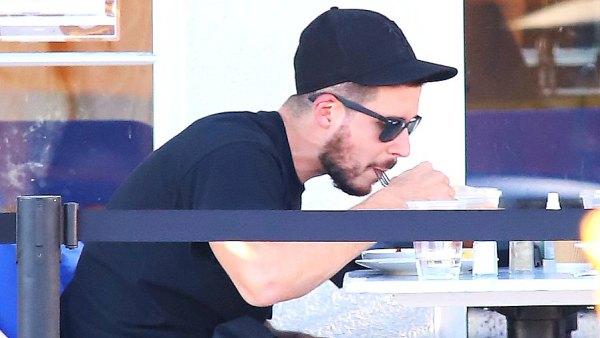 Vinny Guadagnino eating
