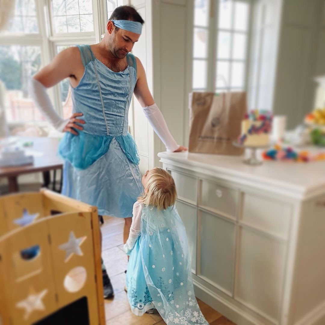 Andy Roddick Rocks Princess Gown on Daughter's Stevie's Birthday