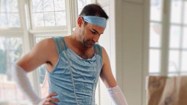 Andy Roddick Stevie Roddick Blue Princess Dress