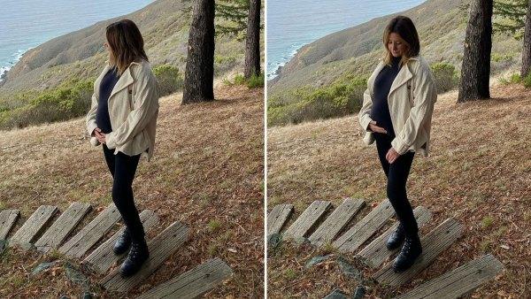 Ashley Tisdale Babymoon Big Sur