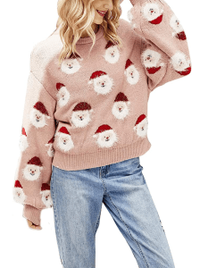 AvoDovA Women 's Christmas Furry Sweaters