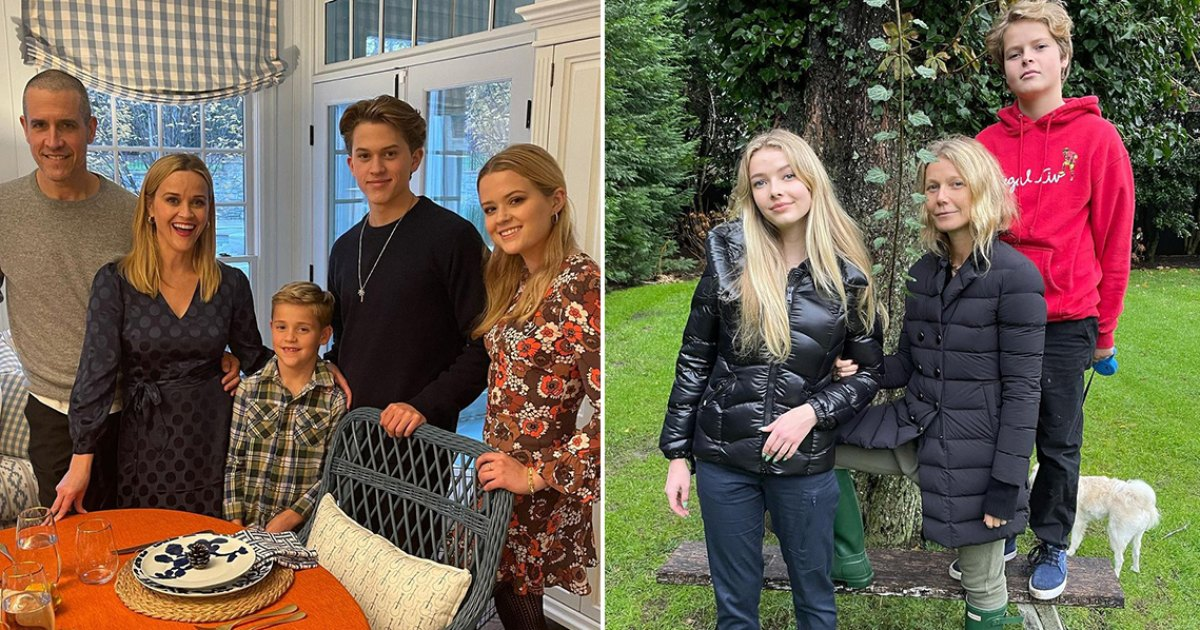 How Stars Celebrated Thanksgiving 2020: Reese Witherspoon, Gwyneth Paltrow and More