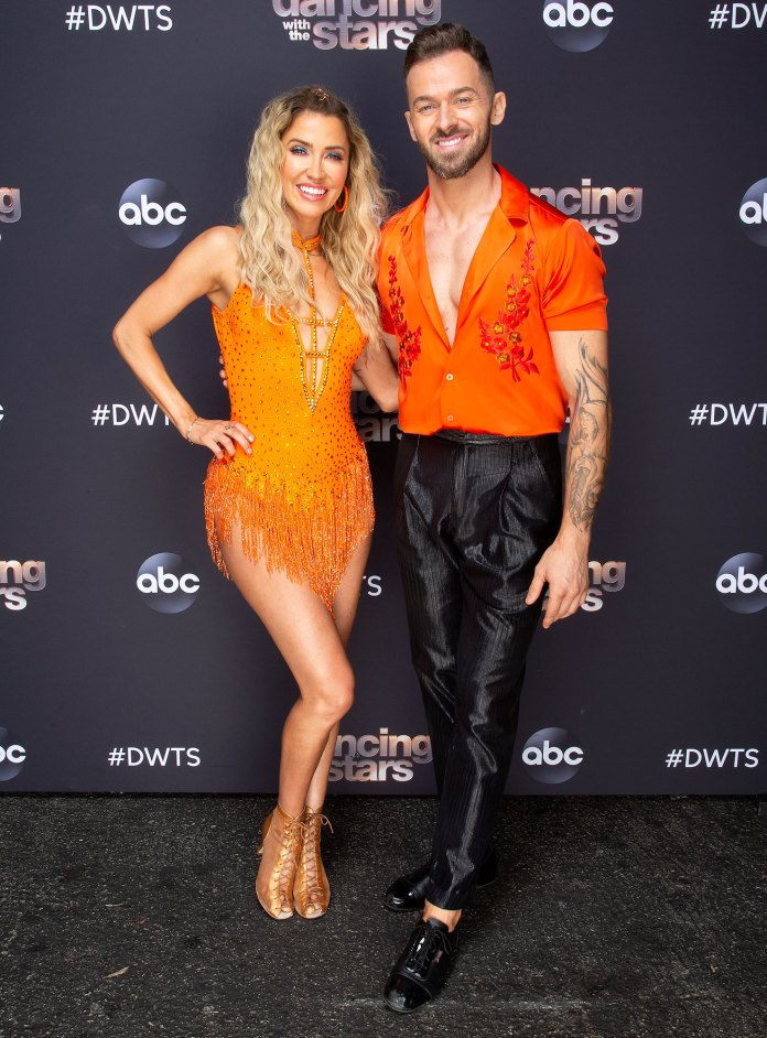 Kaitlyn Bristowe and Artem Chigvintsev Question Carrie Ann Inaba Dancing With The Stars DWTS Judging