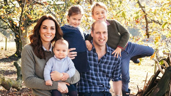 Prince William and Duchess Kate 3 Kids Prince Louis Princess Charlotte Prince George Cant Wait for Christmas